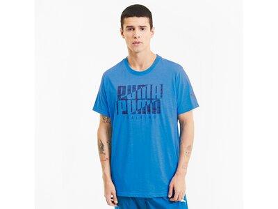 PUMA Herren Shirt Performance Branded Blau