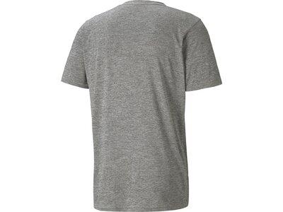 PUMA Herren T-Shirt TRAIN FAV HEATHER CAT Grau