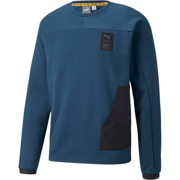 PUMA Herren Shirt TRAIN FIRST MILE FT SWEATS