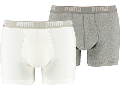 PUMA Herren Retropants Basic Boxer 2P 2er Pack Grau