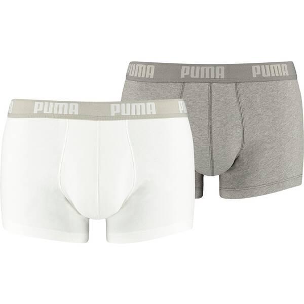 PUMA Herren Retropants Basic Trunk 2P 2er Pack | Bekleidung > Wäsche > Retro Pants | White | Puma