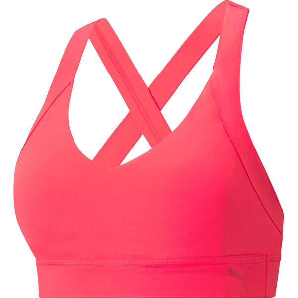 PUMA Damen Sport-BH Mid Impact Own It