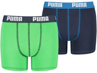 PUMA Kinder Unterhose BASIC BOXER 2P Grün