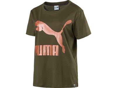 PUMA Damen T-Shirt Grün