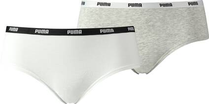PUMA Damen Unterhose ICONIC HIPSTER 2P