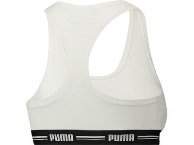 PUMA Damen Sport-BH Iconic Racer Back Bra Grau