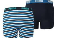 Vorschau: PUMA Kinder Unterhose BASIC BOXER PRINTED STRIPE 2P