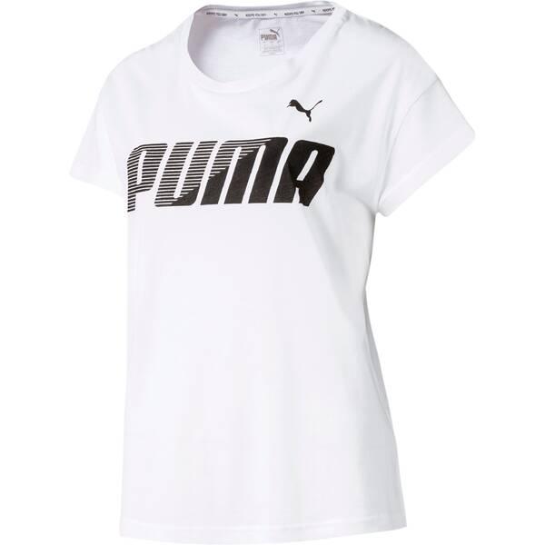 PUMA  Damen T-Shirt MODERN SPORT Graphic Tee