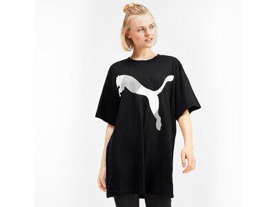 PUMA Damen T-Shirt MODERN SPORT Fashion Tee Schwarz
