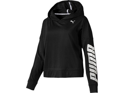 PUMA Damen T-Shirt MODERN SPORT Cover up Schwarz