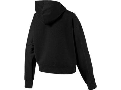 PUMA Damen Fitness-Sweatshirt Schwarz