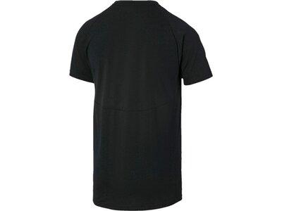 PUMA Herren T-Shirt Evostripe Tee Schwarz