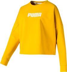 PUMA Damen Sweatshirt NU-TILITY Cropped Crew Sweat