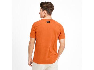 PUMA Herren T-Shirt Athletics Tee Orange
