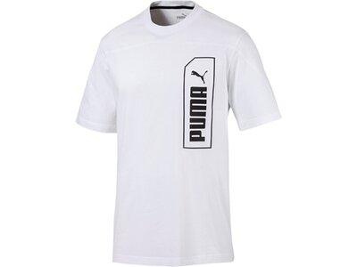 PUMA Herren T-Shirt NU-TILITY Tee Pink