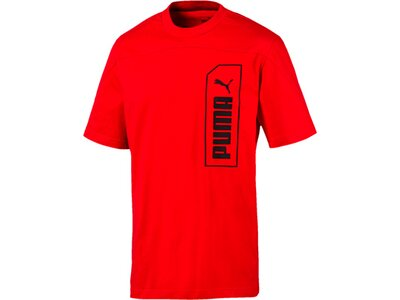 PUMA Herren T-Shirt NU-TILITY Tee Rot