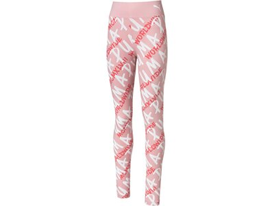 PUMA Kinder Leggins Alpha AOP Leggings G Rot