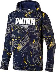 PUMA Kinder Sweat Alpha AOP Hoody FL B