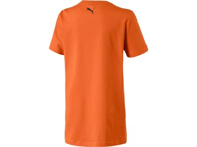 PUMA Kinder T-Shirt Alpha Holiday Tee B Braun