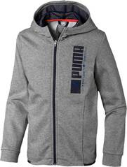 PUMA Kinder Active Sports Hooded Jacke