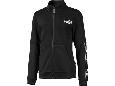 PUMA Kinder Sweatjacke Amplified Jacket FL G Schwarz