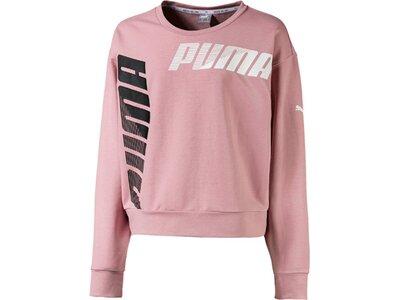 PUMA Kinder Sweatshirt Modern Sports Crew Pink