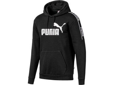 "PUMA Herren Sweatshirt mit Kapuze ""Amplified Hoodie FL"" Schwarz"