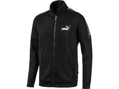 PUMA Herren Sweatjacke Amplified Track Jacket FL Schwarz