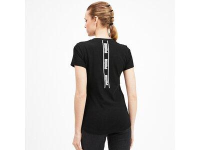 PUMA Damen T-Shirt Amplified Tee Schwarz