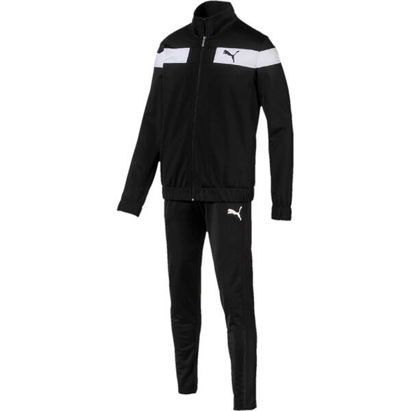 PUMA Herren Trainingsanzug Techstripe Tricot Suit Op.