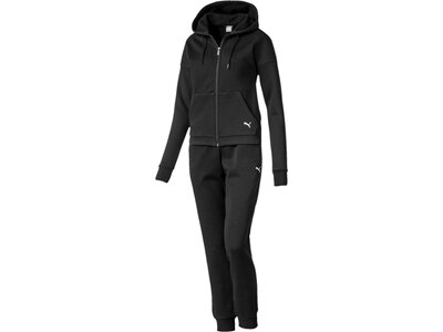 PUMA Damen Trainingsanzug Classic Hd. Sweat Suit, cl Schwarz