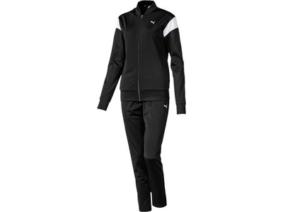 PUMA Damen Trainingsanzug Classic Tricot Suit, op Schwarz