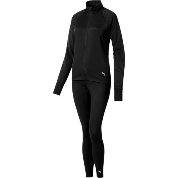 PUMA Damen Trainingsanzug ACTIVE Yogini Woven Suit