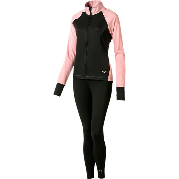 PUMA Damen Trainingsanzug ACTIVE Yogini Woven Suit