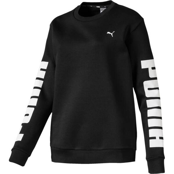 PUMA Damen Sweatshirt Rebel Crew Sweat FL