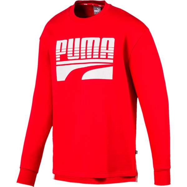 PUMA Herren Sweatshirt Rebel Bold Crew FL