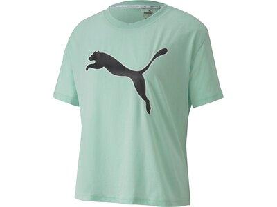 PUMA Damen Shirt Modern Sports Logo Silber