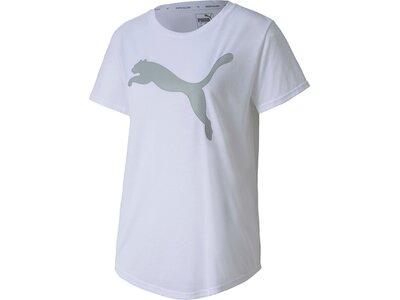 PUMA Damen Shirt Evostripe Silber