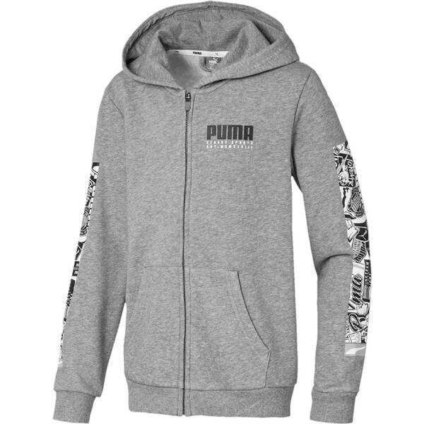 PUMA Kinder Alpha Hooded Jacket TR B