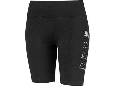 PUMA Damen Shorts Rebel 7 Schwarz