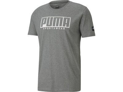 PUMA Herren Shirt ATHLETICS Big Logo Grau
