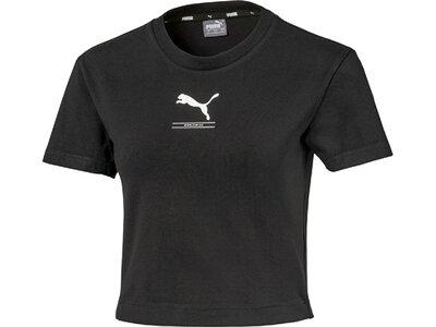PUMA Damen Shirt Nu-tility Fitted Schwarz