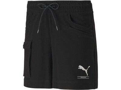 PUMA Damen Shorts Nu-tility 4 Schwarz