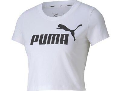 PUMA Damen Shirt ESS Fitted Grau