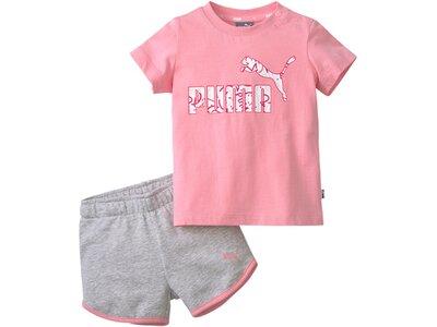 PUMA Kinder Sportanzug Minicats Alpha Set Pink