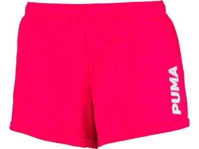 PUMA Damen Shorts Modern Sports 3 Rot