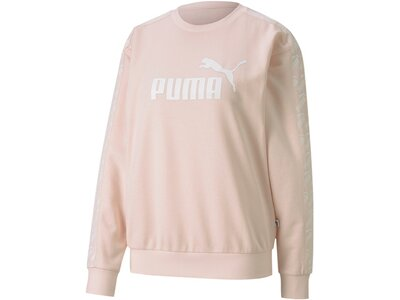 PUMA Damen Sweatshirt Amplified Crew Sweat TR Braun