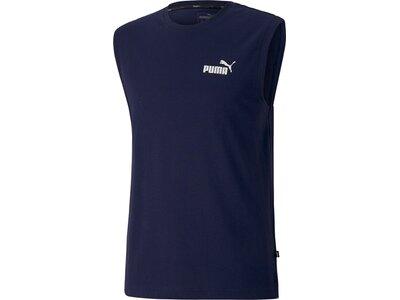 PUMA Herren Shirt ESS Sleeveless Blau