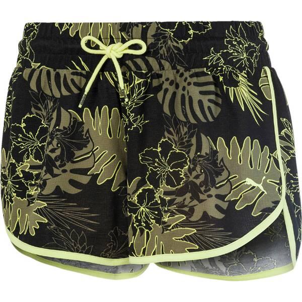 Hosen - PUMA Damen Shorts Summer AOP 2 › Schwarz  - Onlineshop Intersport