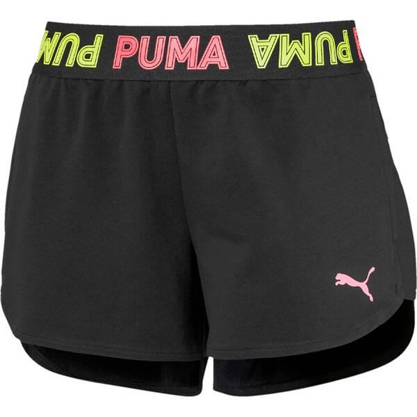 PUMA Damen Shorts Modern Sports Banded 3